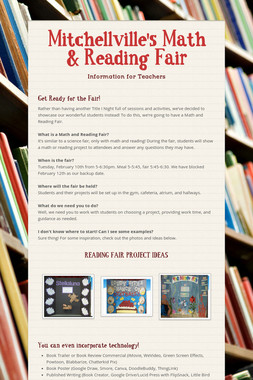 Mitchellville's Math & Reading Fair