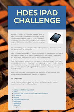 HDES iPad Challenge
