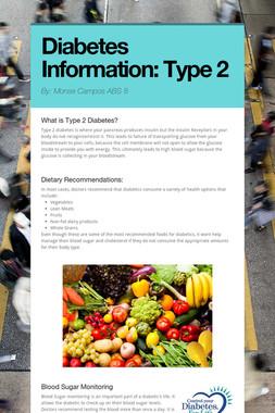Diabetes Information: Type 2