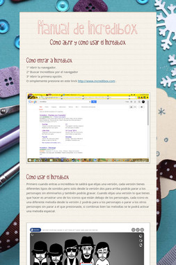 Manual de Incredibox