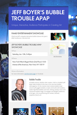 JEFF BOYER'S BUBBLE TROUBLE APAP