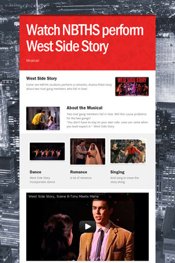 Watch NBTHS perform West Side Story