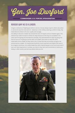 Gen. Joe Dunford