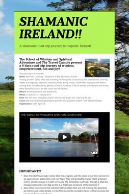 SHAMANIC IRELAND!!