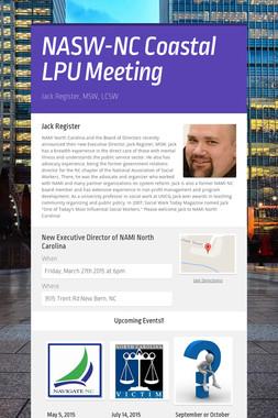 NASW-NC Coastal LPU Meeting
