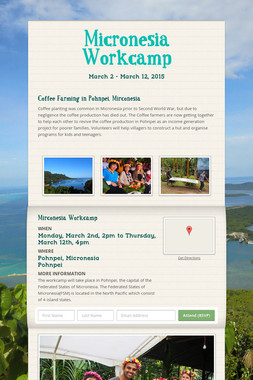 Micronesia Workcamp
