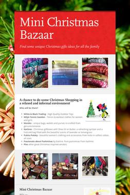 Mini Christmas Bazaar