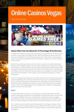 Online Casinos Vegas