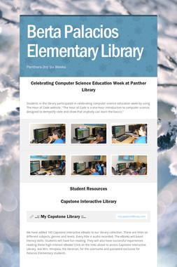 Berta Palacios Elementary Library