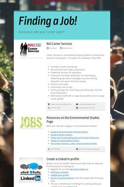 Finding a Job!