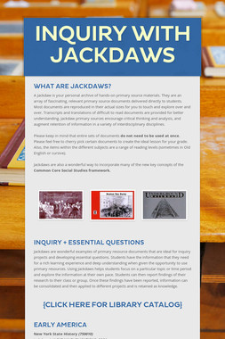 Inquiry with Jackdaws