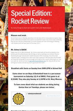 Special Edition: Rocket Review
