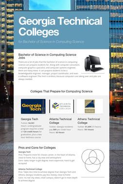 Georgia Technical Colleges