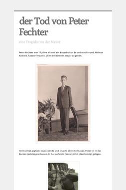 der Tod von Peter Fechter