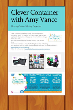 Clever Container with Amy Vance