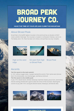 Broad Peak Journey Co.