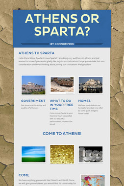 Athens or Sparta?