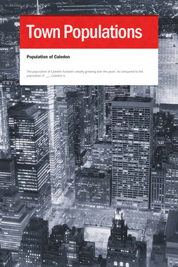 Town Populations