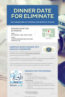 Dinner Date for Eliminate