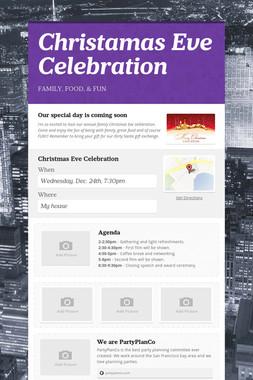 Christamas Eve Celebration