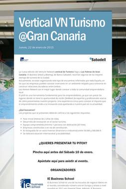 Vertical VN Turismo @Gran Canaria