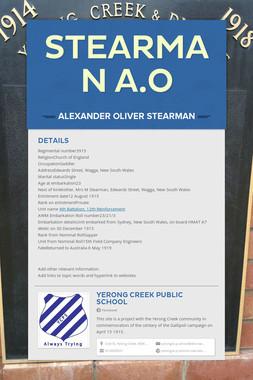 Stearman A.O