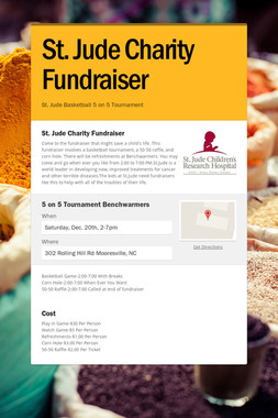 St. Jude Charity Fundraiser