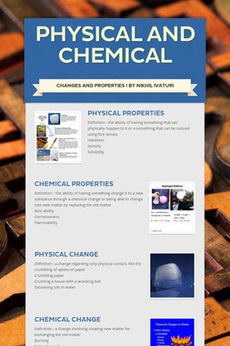 Physical and chemical