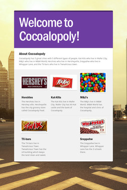Welcome to Cocoalopoly!