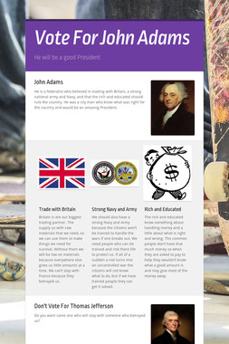Vote For John Adams