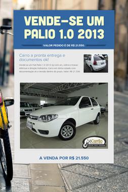 Vende-se um Palio 1.0 2013