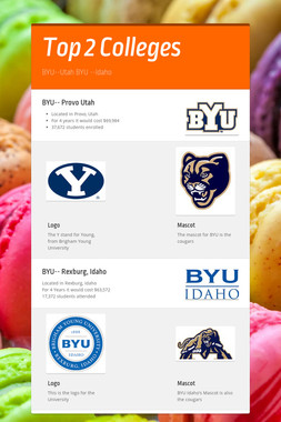 Top 2 Colleges