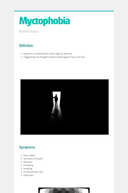 Myctophobia