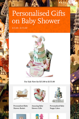 Personalised Gifts on Baby Shower