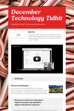 December Technology Tidbit