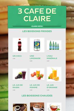 3 Cafe de Claire