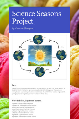 Science Seasons Project
