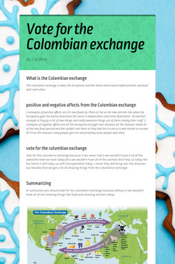 Vote for the Colombian exchange
