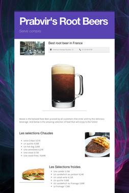 Prabvir's Root Beers