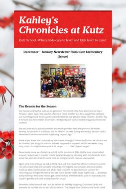 Kahley's Chronicles at Kutz