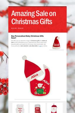 Amazing Sale on Christmas Gifts