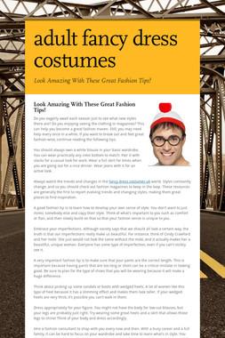 adult fancy dress costumes