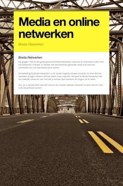 Media en online netwerken
