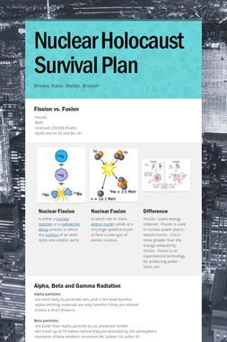 Nuclear Holocaust Survival Plan