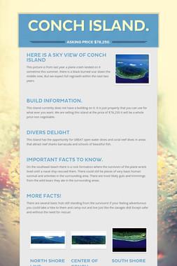Conch Island.