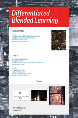 Differentiated Blended Learning