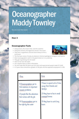 Oceanographer  Maddy Townley