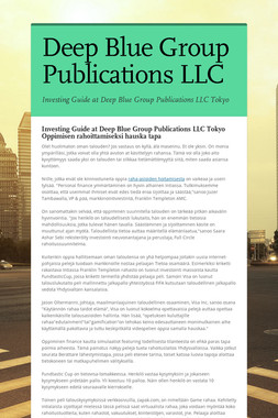 Deep Blue Group Publications LLC