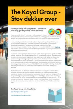 The Koyal Group - Stov dekker over