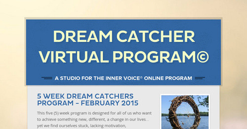 Dream Catcher Virtual Program© Smore Newsletters Classy Dream Catchers Live Richer Facebook